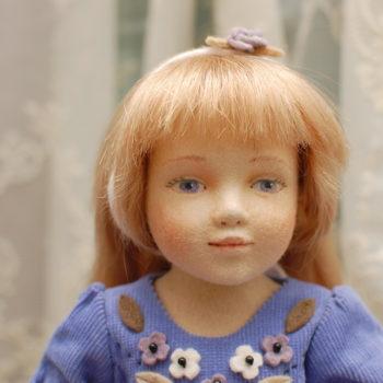 фотография фетровой куклы автора Maggie Iacono