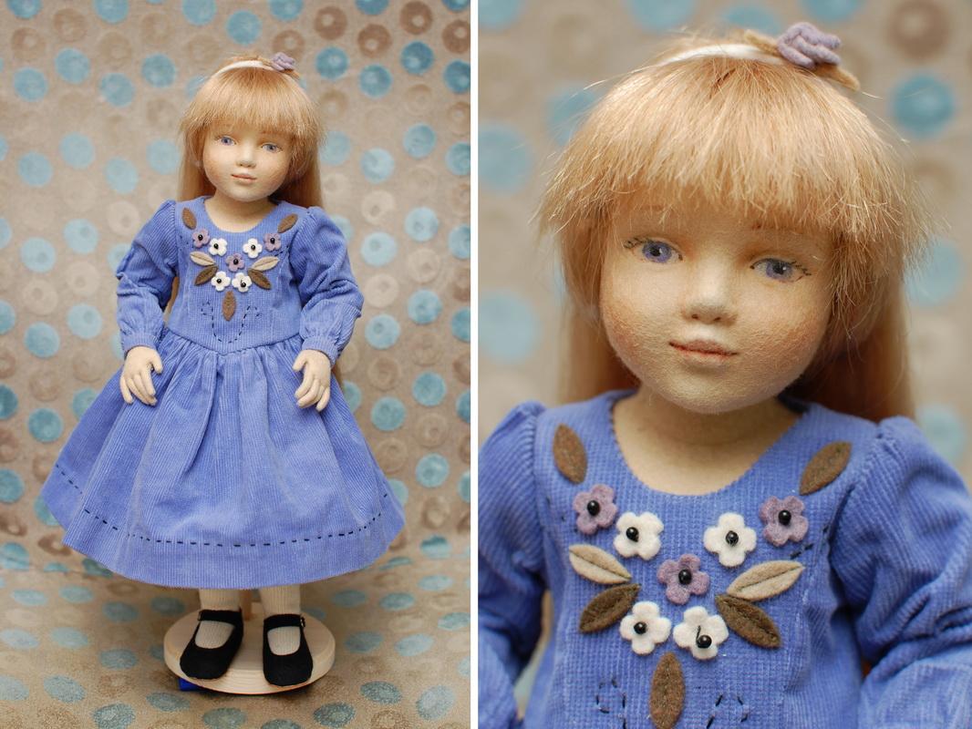 фетровая кукла