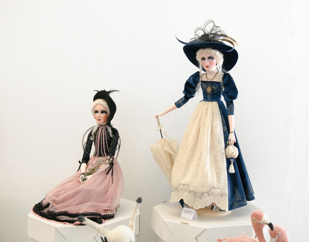 будуарные куклы Углинской Ирины