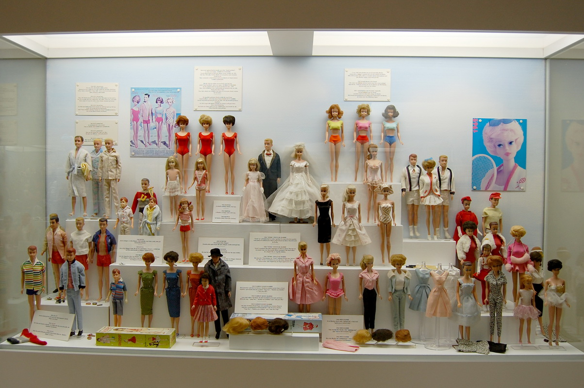 куклы барби музей игрушек в Праге