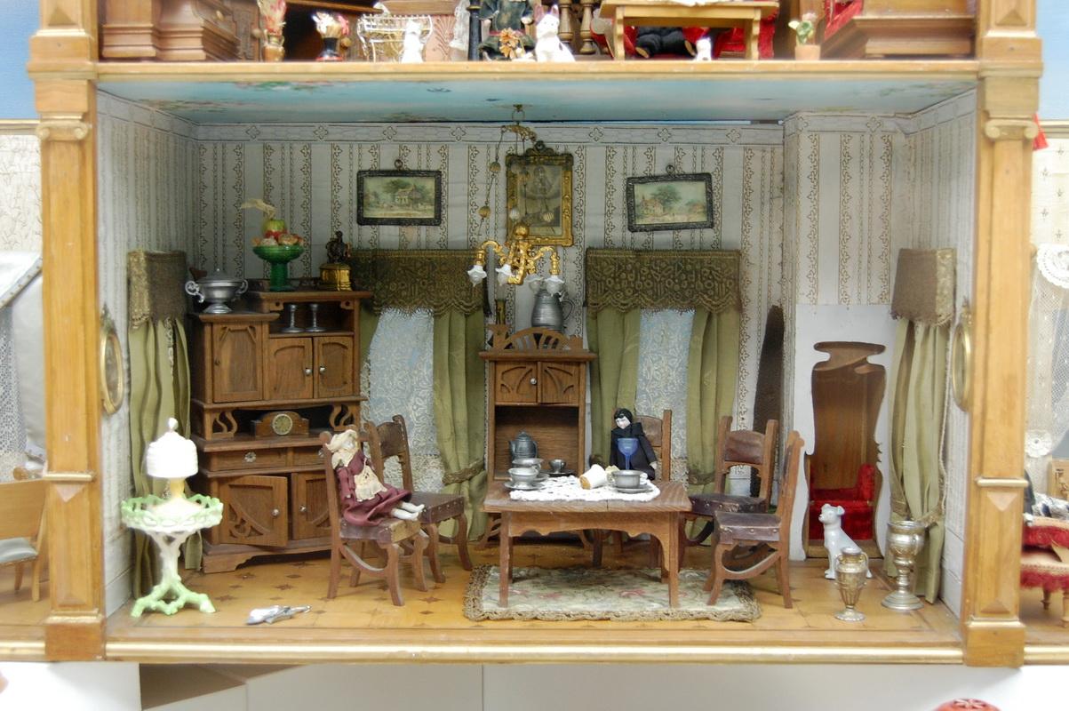 картинки кукольный домик внутри сети появились фотографии