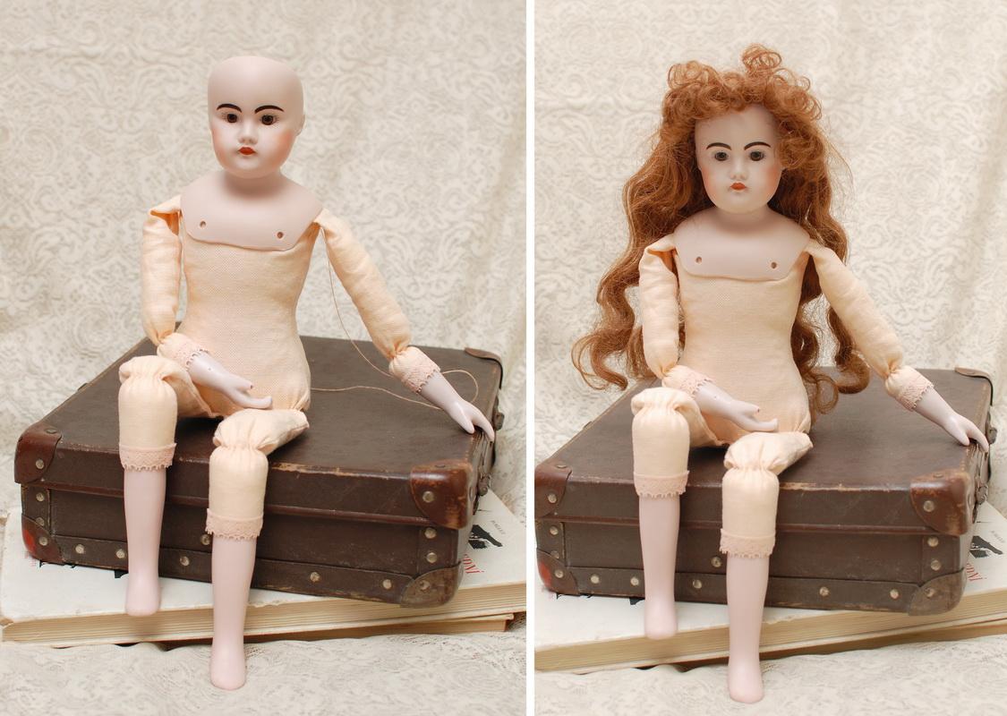 фотография переделанного тела для фарфоровой куклы