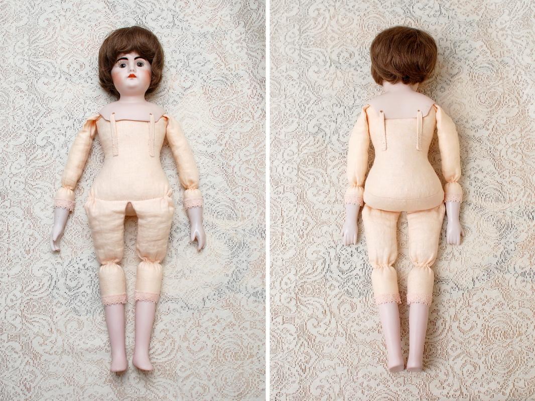 переделка тела фарфоровой куклы