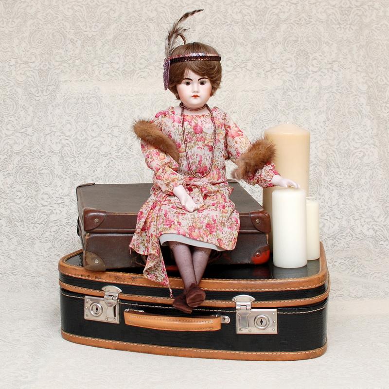 пошив одежды для фарфоровых кукол