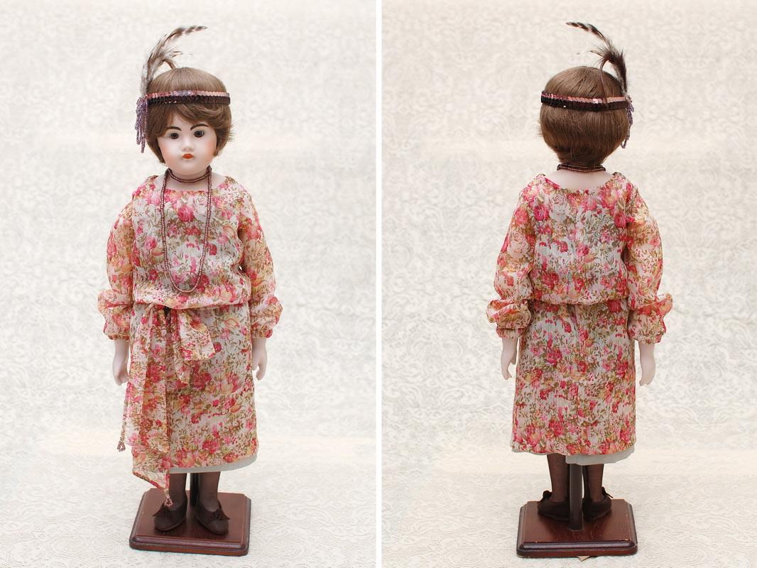 фотография одежды для куклы в стиле 30-40 годов