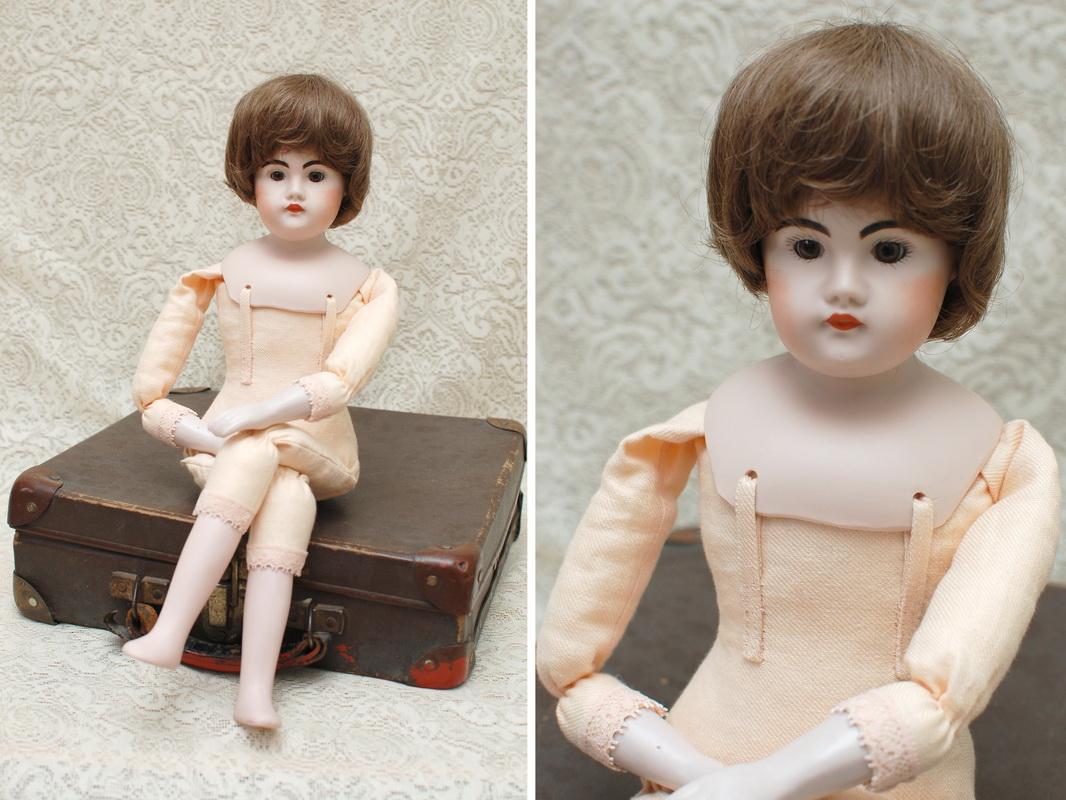 фотография куклы на новом тканевом теле