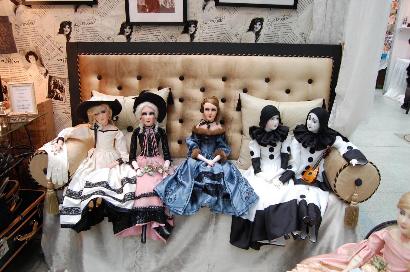 будуарные куклы Ирины Углинской