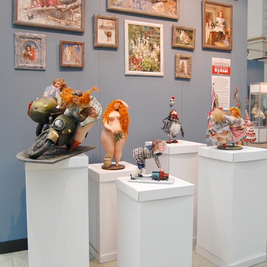 выставка искусство куклы 2017 в Гостином Дворе
