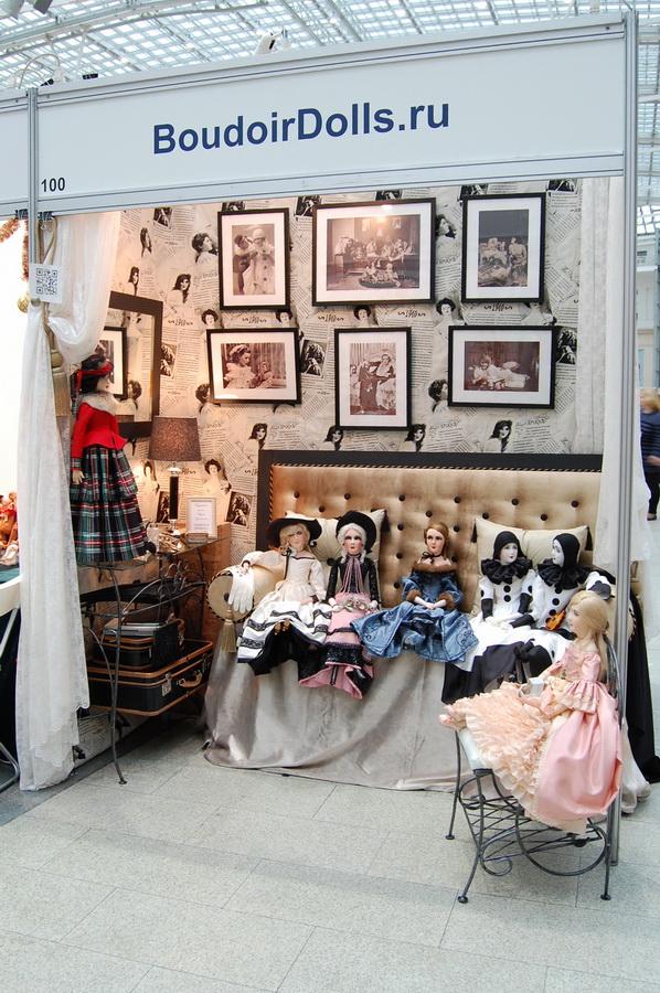 будуарные куклы на выставке искусство куклы