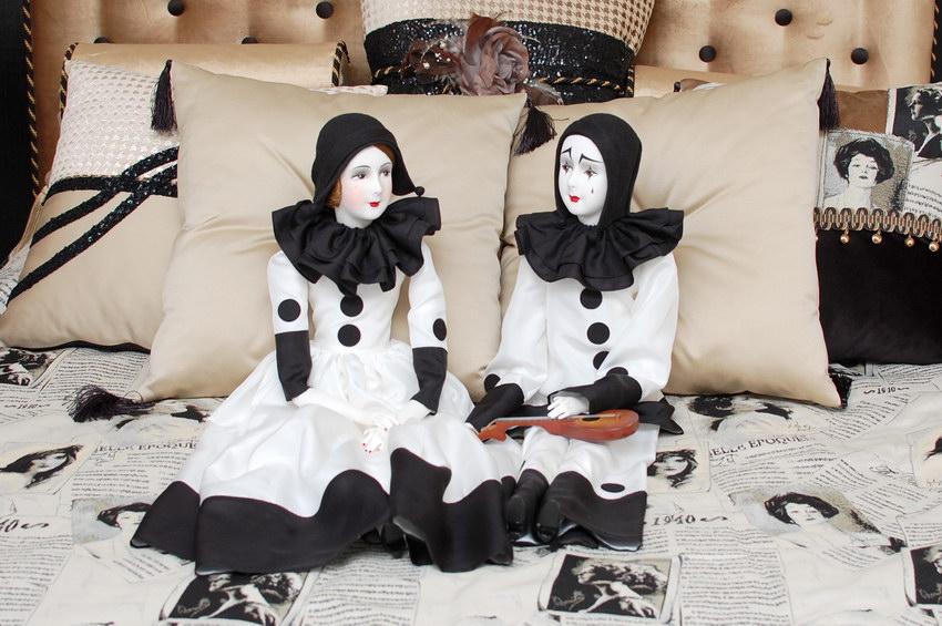 будуарные куклы ручной работы