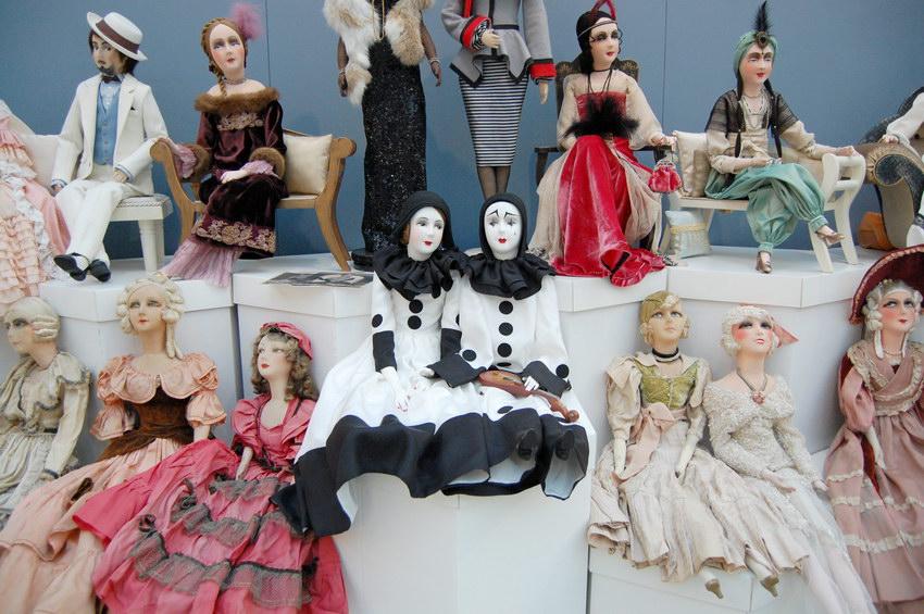 будуарные куклы фото