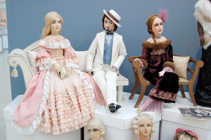 фетровые будуарные куклы
