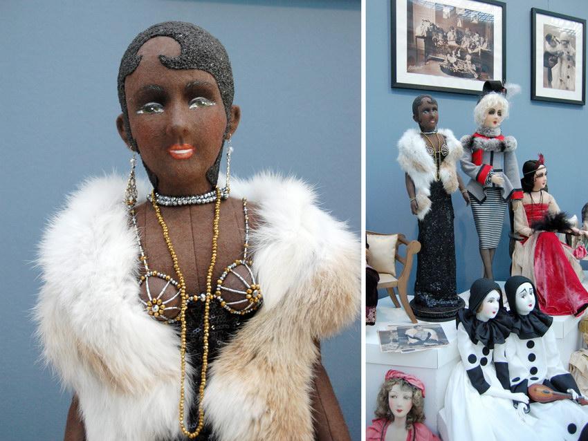 будуарная кукла Жозефина Бейкер