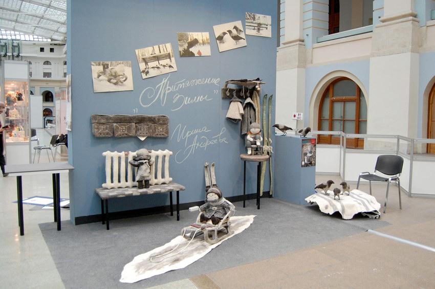 кукольная выставка искусство куклы 2018