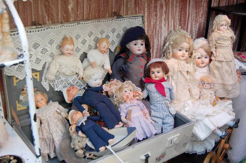 винтажные куклы на выставке искусство куклы 2018