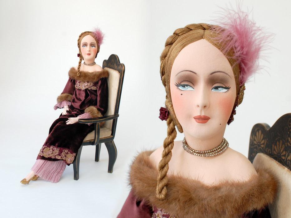 будуарная кукла фото