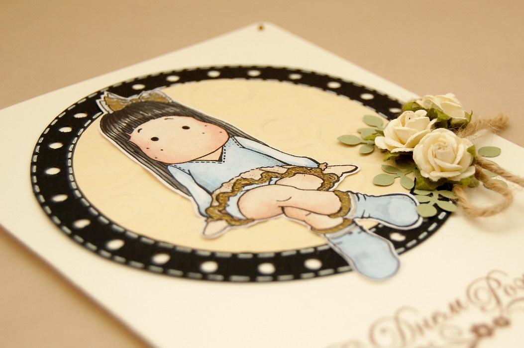 детская открытка для девочки