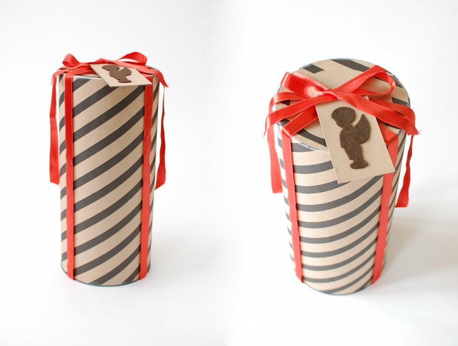 стильная упаковка подарков ручной работы