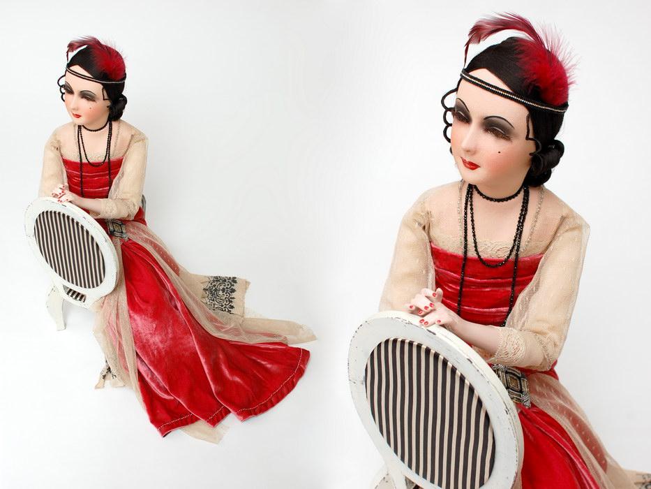 авторская будуарная кукла фото