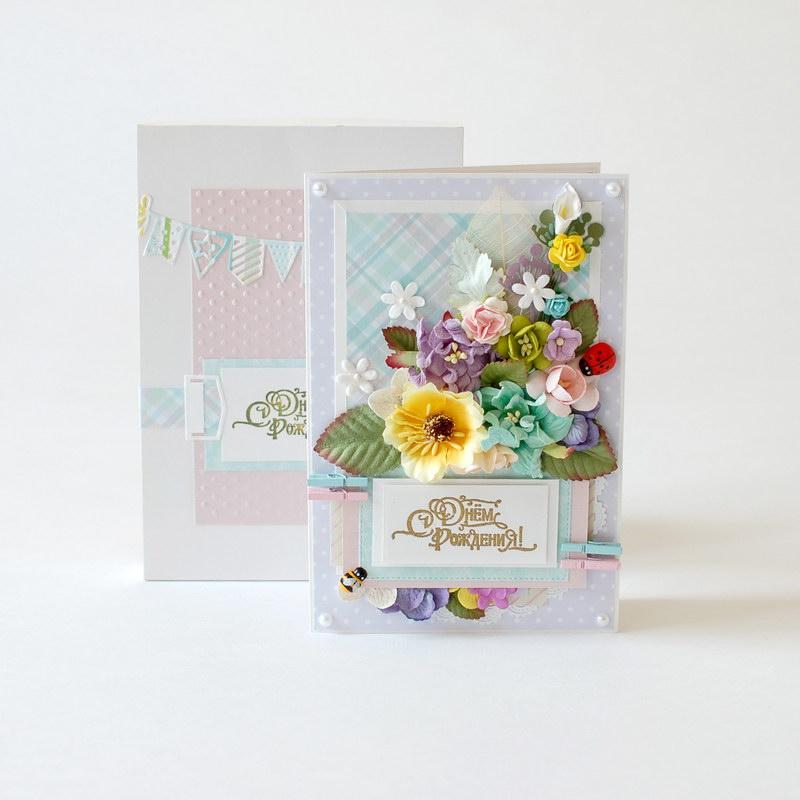 фото открытки ручной работы с днем рождения