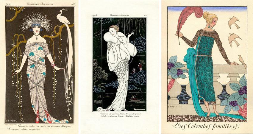 Иллюстрация художника Барбье