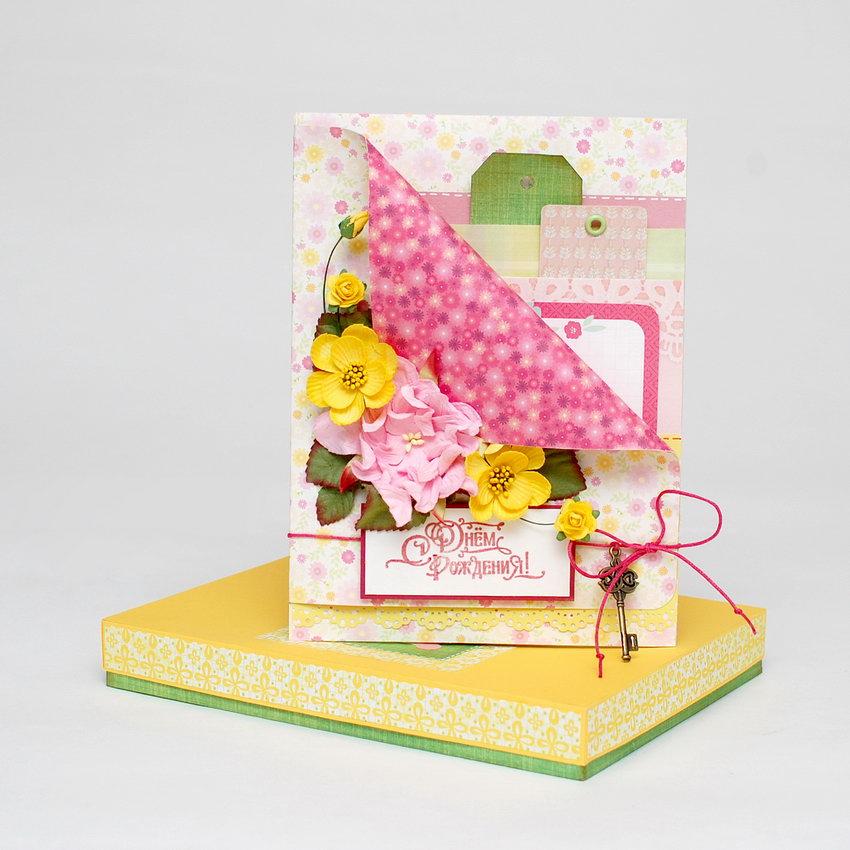 открытки ручной работы с днем рождения