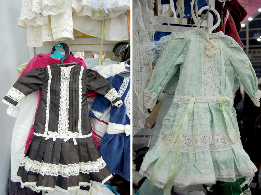 одежда для антикварных кукол
