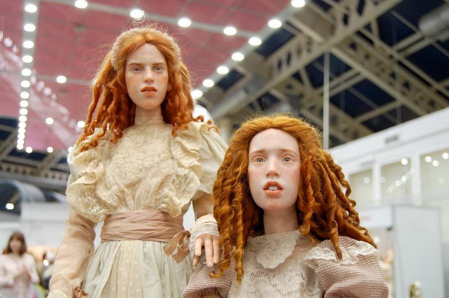 авторские куклы Михаила Зайкова