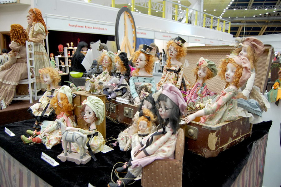 выставка кукол Тишинка 2015