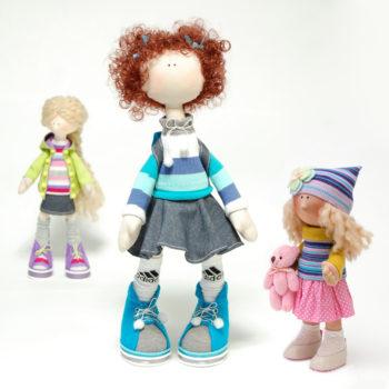 куклы в текстильной технике