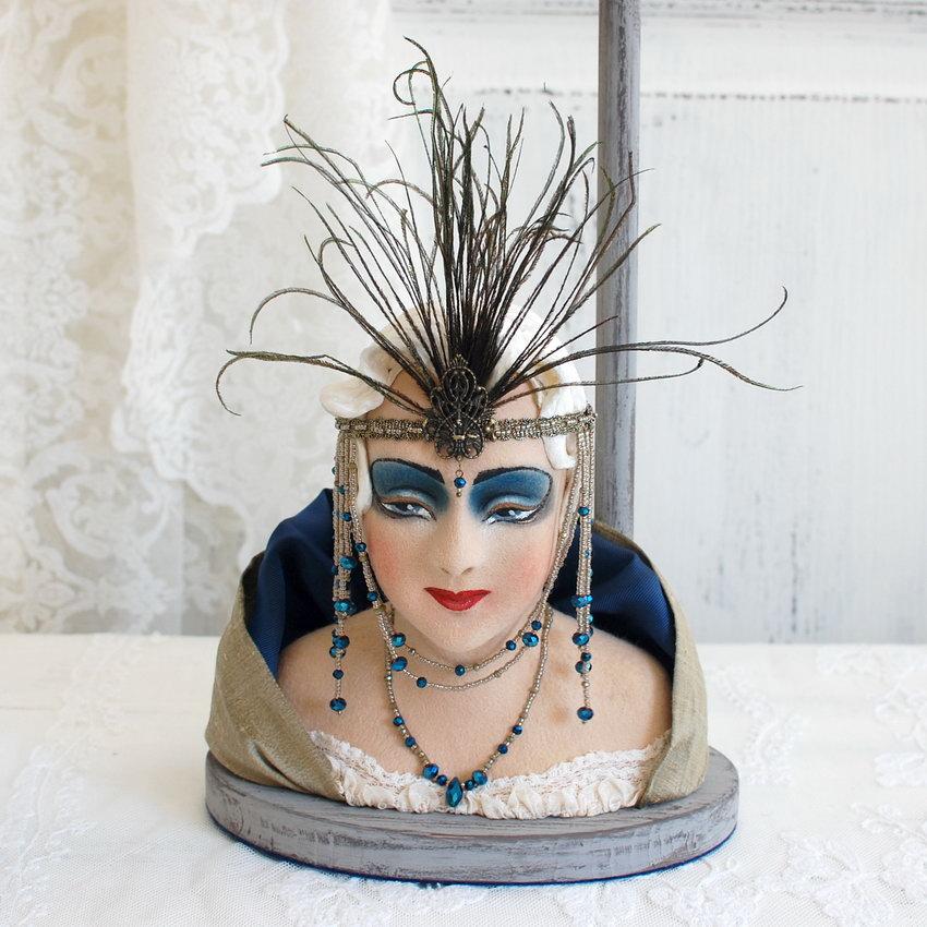 подставка для шляп в винтажном стиле